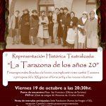 """Representación histórica teatralizada: """"La Tarazona de los años 20"""""""