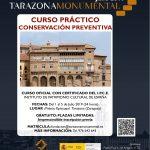 Curso práctico de Conservación Preventiva IPCE. Tarazona 1-5 Julio 2019