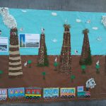 """Tarazona Monumental da a conocer las chimeneas industriales como los """"nuevos monumentos"""" a más de 400 niños"""