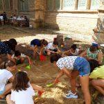Los juegos y talleres plásticos vuelven un año más a la Catedral de Tarazona