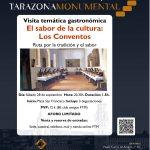 """II Visita temática gastronómica """"El Sabor de la Cultura: Los Conventos"""""""