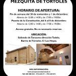 Apertura turística de la Mezquita de Tórtoles