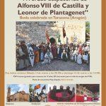 Recreación histórica en Tarazona con motivo del 850 aniversario de los desposorios reales de Alfonso VIII de Castilla y Leonor de Plantagenet