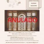 ANULACIÓN Jornada sobre las aplicaciones didácticas del mudéjar aragonés