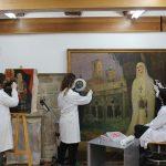 El taller de restauración de bienes muebles de la Fundación Tarazona Monumental acogerá este año a un total de 8 alumnos en prácticas profesionales