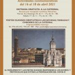 """Actividades conmemorativas """"X Aniversario Reapertura Catedral Sta. Mª de la Huerta"""""""